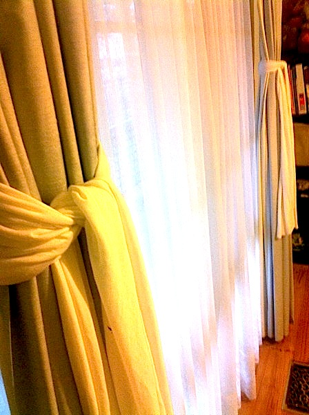 Saving money on home decorating | Luxury curtain ties