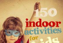 Games for kids | 150 indoor activities for kids