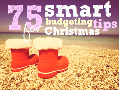 Christmas shopping | 75 smart budgeting tips for Christmas