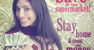 Save at the supermarket | Stay home and count your money!