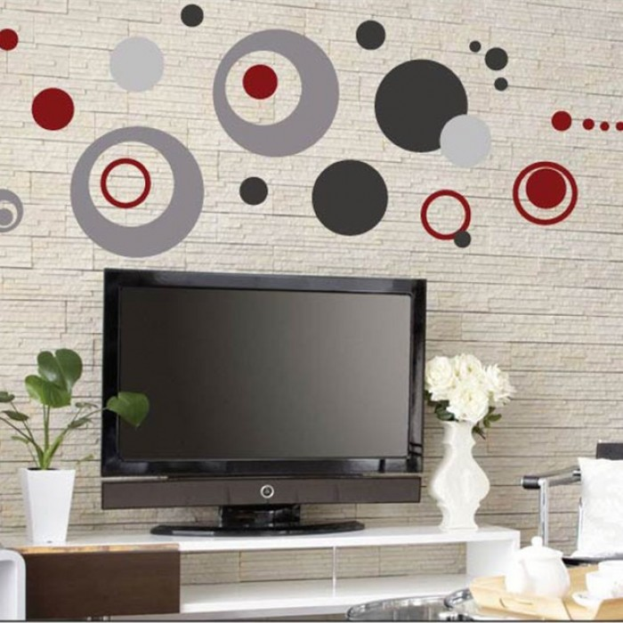 Retro Wall Decal for Living Room or any Space