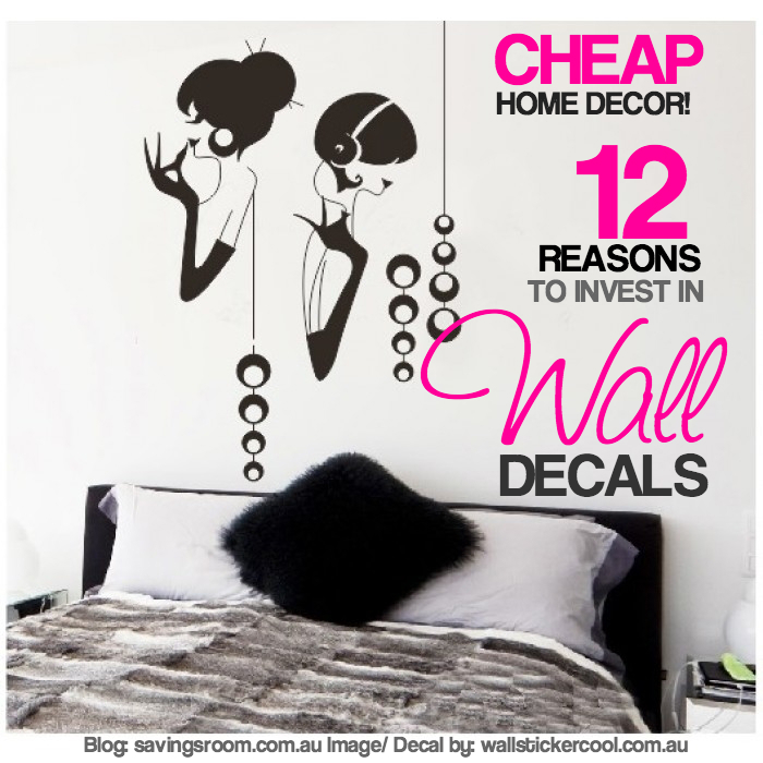 Cheap Home Decor 12 Reasons To Invest In Wall Decals
