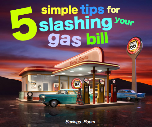 5 simple tips for slashing your gas bill