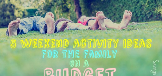 5 weekend activity ideas for the family on a budget