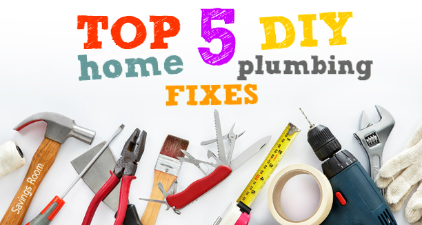 Top 5 DIY Home Plumbing Fixes