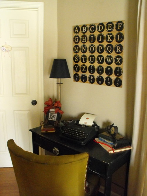 makeover your bedroom - eclectic home office - 5 creative ways to makeover your bedroom on a budget
