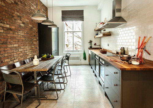 makeover your bedroom - industrial kitchen - 5 creative ways to makeover your bedroom on a budget
