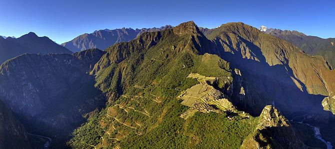 Machu Picchu from Wayna Picchu Norsk (bokmål)...