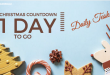 Christmas Countdown – Daily Task –1 Day to Go