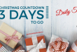 Christmas Countdown – Daily Task – 3 Days to Go