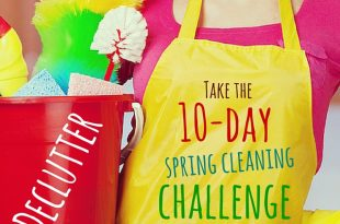 Declutter | 10 day spring cleaning challenge