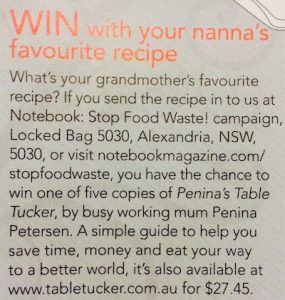 MEDIA_Notebook_Win notebook magazine - MEDIA Notebook Win 285x300 - Notebook Magazine   Recipes like grandma used to make