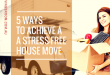5 ways to achieve a stress-free house move